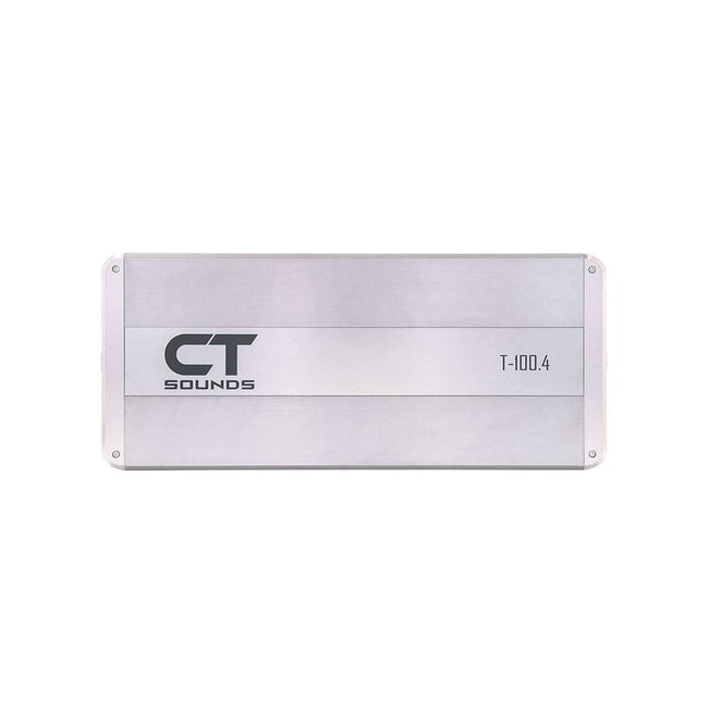T-100.4AB // 640 Watts RMS 4-Channel Car Audio Amplifier Amplifiers- CT Sounds Car Audio