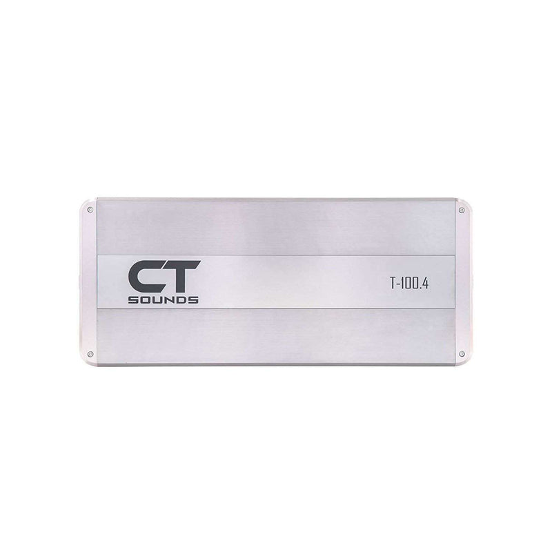 T-100.4 Amplifier Amplifiers- CT Sounds Car Audio