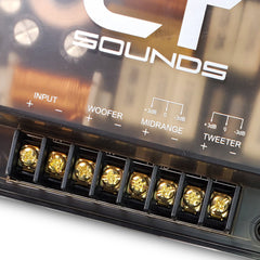 Passive 3-Way Crossover (Pair) Speakers- CT Sounds Car Audio