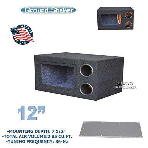 "12"" Single Bandpass Sub Box/12 Single ported sub box - CT SOUNDS"