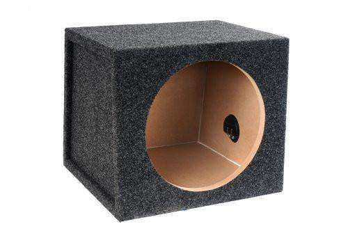 15-Inch Single Sealed Subwoofer Enclosure - CT SOUNDS