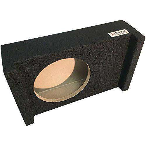 10-Inch Single Sealed Shallow Mount Downfire Enclosure - CT SOUNDS