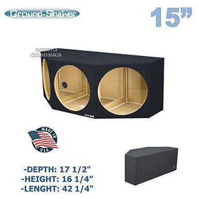 "15"" Triple Sealed Sub Box - CT Sounds Car Audio"