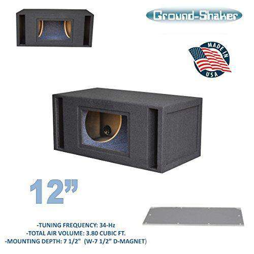 "12"" Dual Slot Ported Bandpass Sub Box - CT SOUNDS"