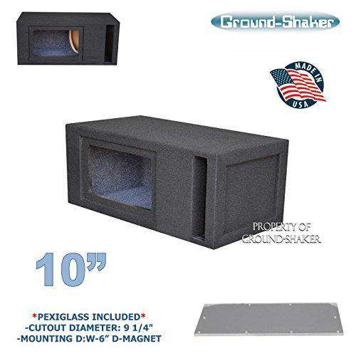 "10"" Single Slot Ported Bandpass Sub Box - CT SOUNDS"