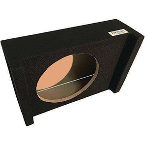 12-Inch Single Sealed Shallow Mount Downfire Enclosure Subwoofer Box- CT Sounds Car Audio
