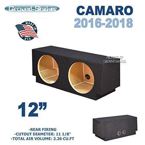 "Chevy Camaro 2016-2018 12"" Dual Sealed Sub Box - CT Sounds Car Audio"