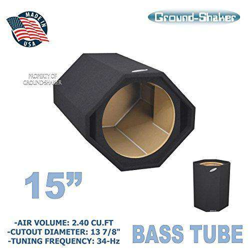 "15"" bass tube/15 ported sub box - CT SOUNDS"