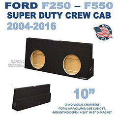 Fits Ford F250 To F550 Super Duty Crew-Cab With Or Without Power Window 2004-2016 10