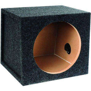 12-Inch Single Sealed Subwoofer Enclosure Subwoofer Box- CT Sounds Car Audio