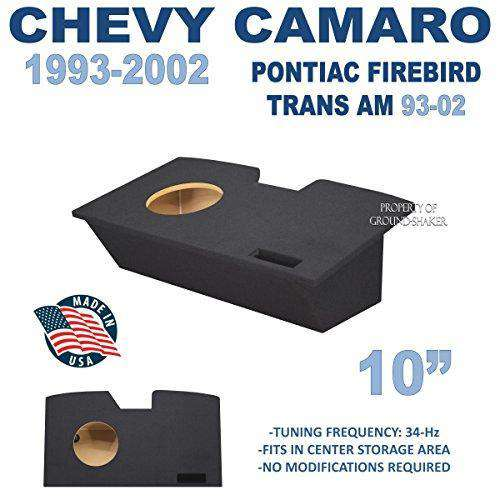 "Chevy Camaro 1993-2002 10"" Single Ported Sub Box - CT SOUNDS"