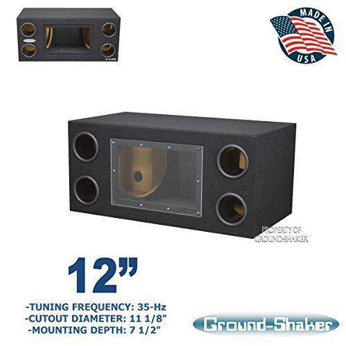 "12"" Dual Bandpass Sub Box/12 Dual ported sub box - CT SOUNDS"