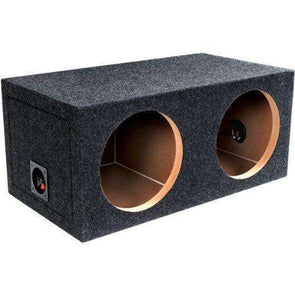 15-Inch Dual Sealed Subwoofer Enclosure Subwoofer Box- CT Sounds Car Audio