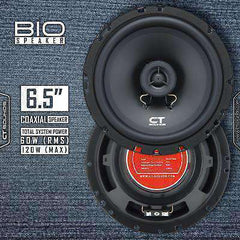 Product Return || Bio 6.5 Inch Coaxial Speakers Speakers- CT Sounds Car Audio