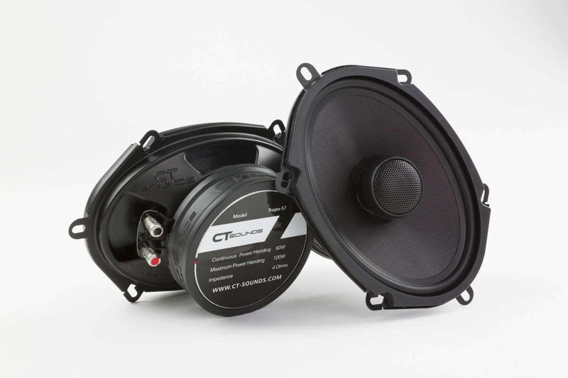 Tropo 5x7 inch Coax Speakers (Pair) - CT SOUNDS