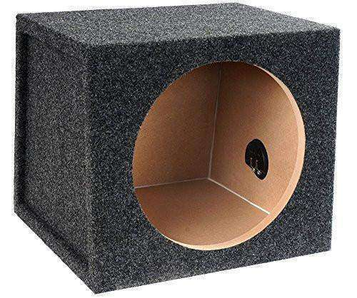 10-Inch Single Sealed Subwoofer Enclosure - CT SOUNDS