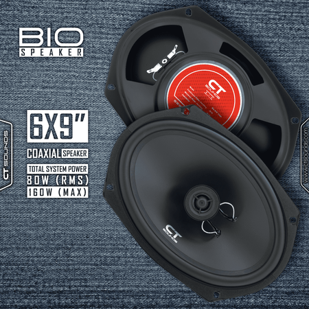 Product Return || Bio 6x9 Inch Coaxial Speakers (Brand New - Working) 04 Speakers- CT Sounds Car Audio