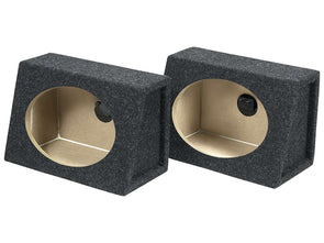 6x9 Inch Speaker Enclosures (Pair) Subwoofer Box- CT Sounds Car Audio