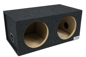 8-Inch Dual Sealed Subwoofer Enclosure - CT SOUNDS