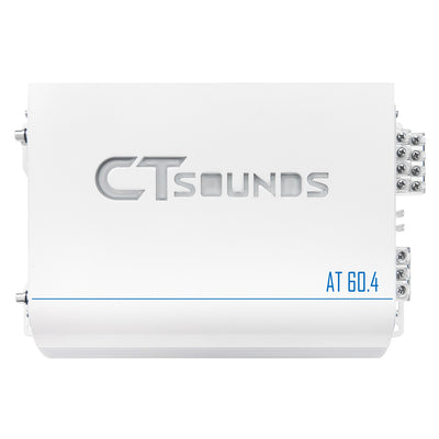 AT-60.4ab // 320 Watts RMS 4-Channel Car Audio Amplifier - CT SOUNDS