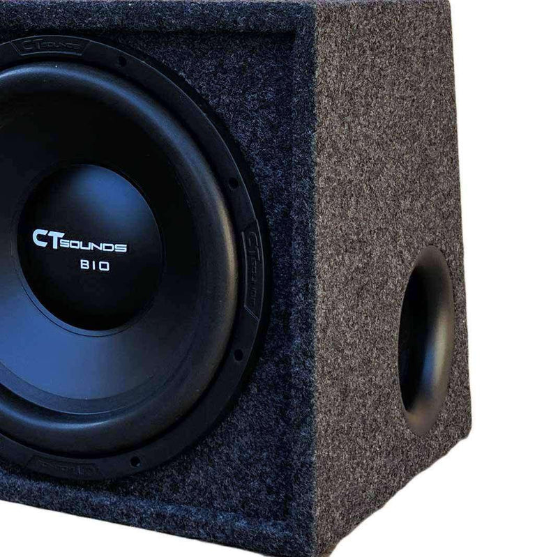 "Dual Bio 12"" S4s V1.0; 300W RMS; PORTED Bass Package (B-Box-D-12-1.0) Bass Packages- CT Sounds Car Audio"