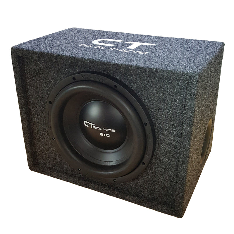 "Single Bio 12"" D2 V2.0; 300W RMS; PORTED Bass Package (B-Box-S-12-2.0) 09 Bass Package- CT Sounds Car Audio"