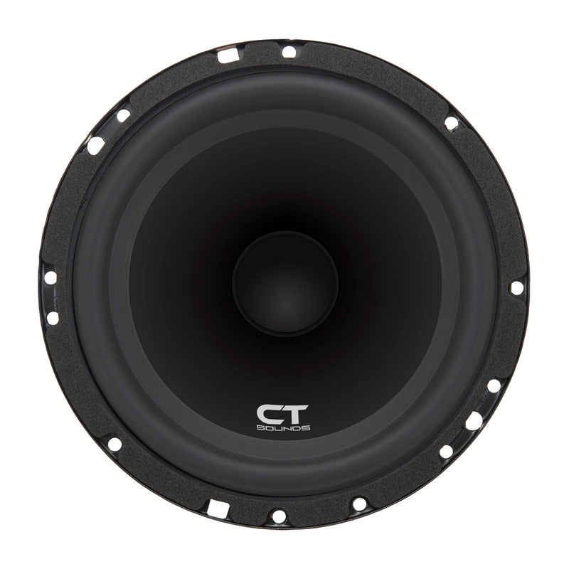 Bio 6.5 Inch Component Speakers Speakers- CT Sounds Car Audio