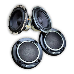 Meso 3.5 Inch Midrange Speakers (Pair) 04 Speakers- CT Sounds Car Audio