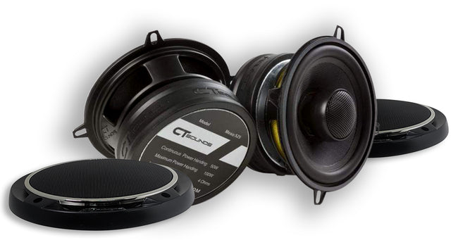 Product Return || Meso 5.25 Inch Coax (BRAND NEW - Working) 04 Speakers- CT Sounds Car Audio