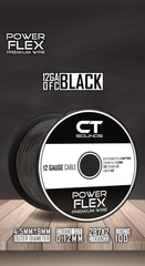 12GA OFC Black Wire Spool (100 Feet) 05 Wiring- CT Sounds Car Audio