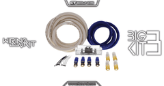 PRE-ORDER -- Big 3 OFC Wiring Kit 0 Gauge Wire Kit Wiring- CT Sounds Car Audio