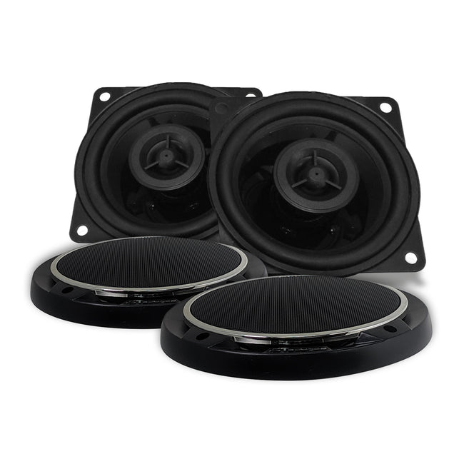 Strato 4 Inch Coaxial Speaker Set Speakers- CT Sounds Car Audio