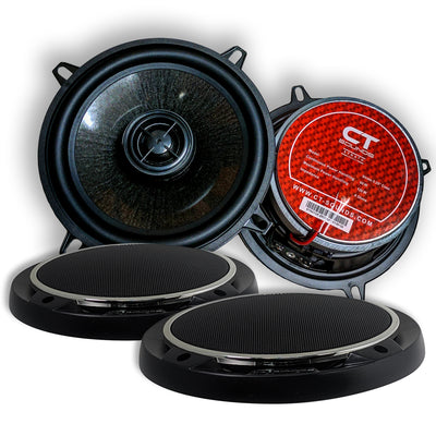 Product Return || Strato 5.25 Inch Coax (Brand New - Working) Speakers- CT Sounds Car Audio
