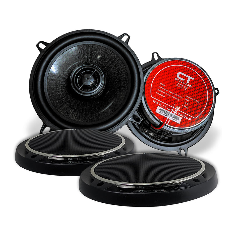 Strato 5.25 Inch Coaxial Speaker Set Speakers- CT Sounds Car Audio