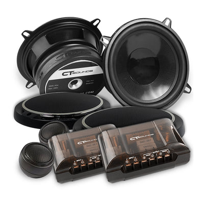 Strato 5.25 Inch Component Speakers - CT SOUNDS