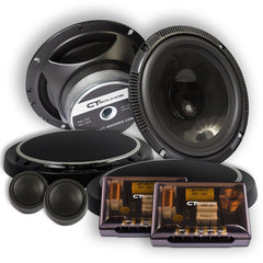 Product Return || Strato 6.5 Inch Component Speakers (Brand New - Working) Speakers- CT Sounds Car Audio