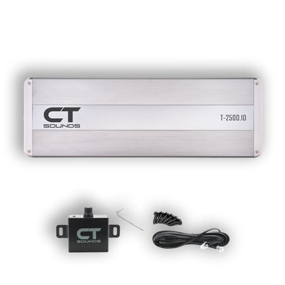 T-2500.1D // 2500 Watts RMS Monoblock Car Audio Amplifier - CT SOUNDS