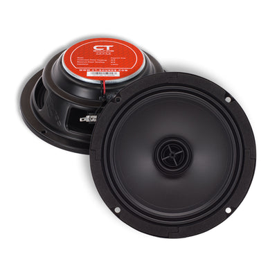Tropo 6.5 Inch Shallow Coax Speaker Set - CT SOUNDS