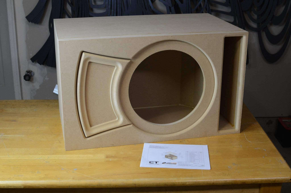 Single 15 Inch Ported Subwoofer Box Design  U2013 Ct Sounds