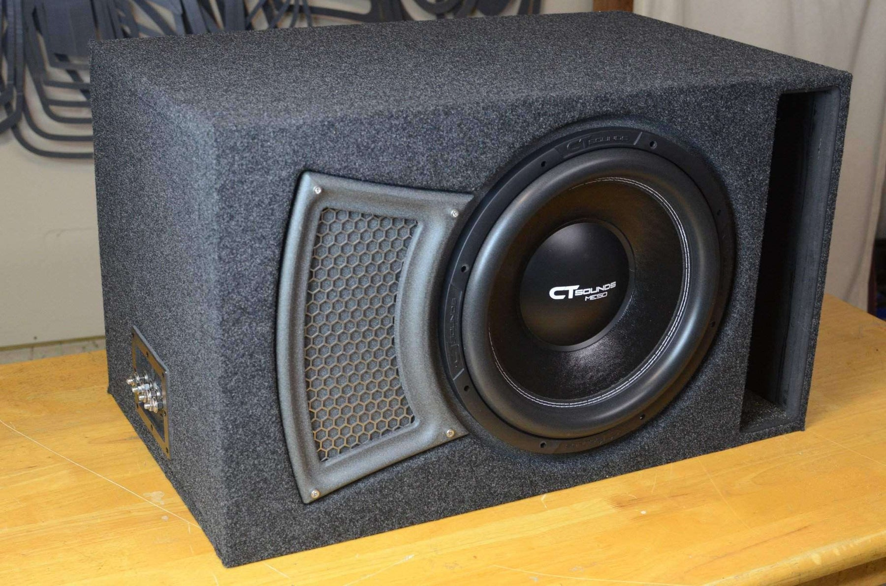 Ct Sounds Single 15 Inch Ported Subwoofer Box Design Wiring Ideal For Meso Subs