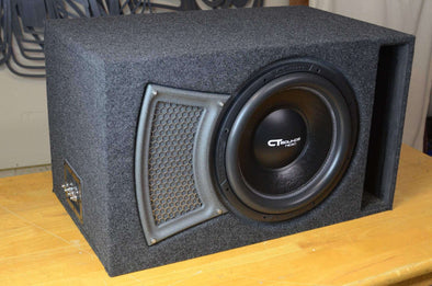 Single 15 Inch PORTED Subwoofer Box Design - CT SOUNDS