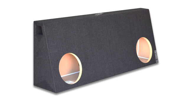 Dual 8 Inch Ported Truck Box - CT Sounds Car Audio