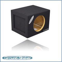 Single 8 Inch Mid-Size Sealed Box Subwoofer Box- CT Sounds Car Audio