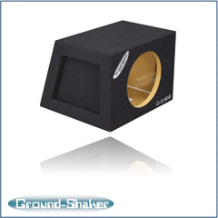 Single 8 Inch Sealed Hatchback Box Subwoofer Box- CT Sounds Car Audio