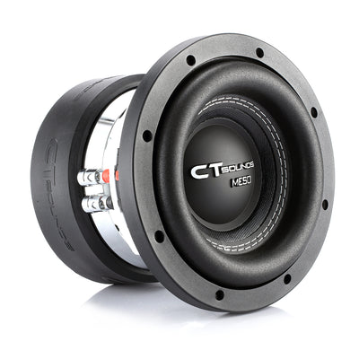 MESO-6-5-D4 // 400 Watts RMS 6.5 Inch Car Subwoofer - CT SOUNDS