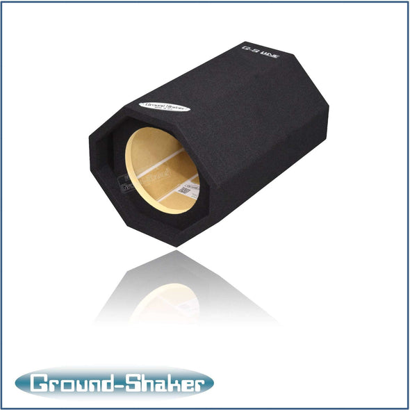 "Black 8"" Single Ported Bass Tube - CT SOUNDS"