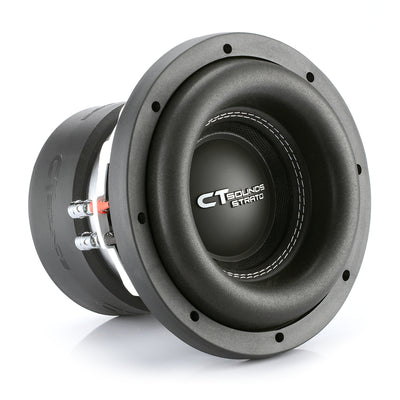 STRATO-8-D4 // 600 Watts RMS 12 Inch Car Subwoofer - CT SOUNDS