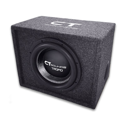 "Single TROPO 8"" D2; 400W RMS; PORTED Bass Package (Factory Tuned & Tested) Bass Package- CT Sounds Car Audio"