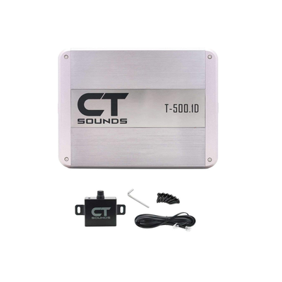 T-500.1D // 500 Watts RMS Monoblock Car Audio Amplifier - CT SOUNDS