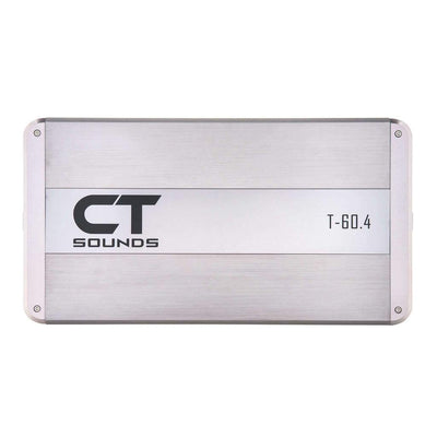 T-60.4AB // 320 Watts RMS 4-Channel Car Audio Amplifier - CT SOUNDS